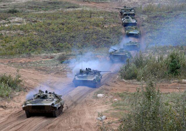 Rusko-běloruská cvičení Západ 2017