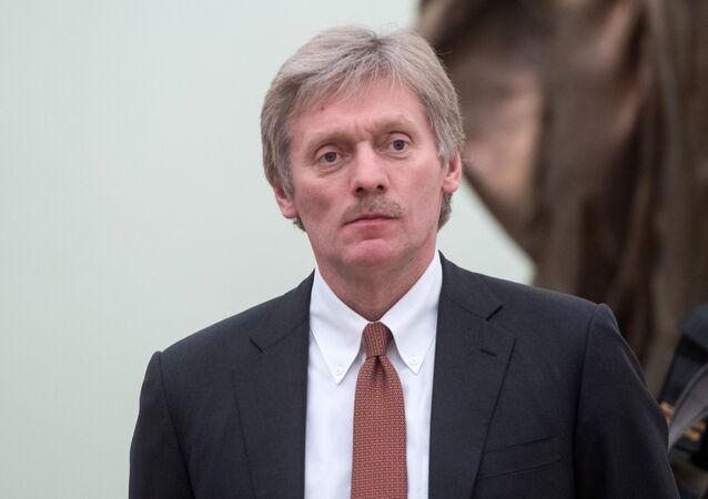 Tiskový tajemník prezidenta RF Dmitrij Peskov