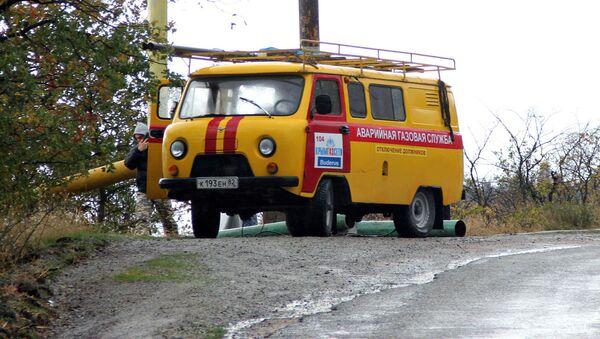 Havarijní služby v Aluště - Sputnik Česká republika