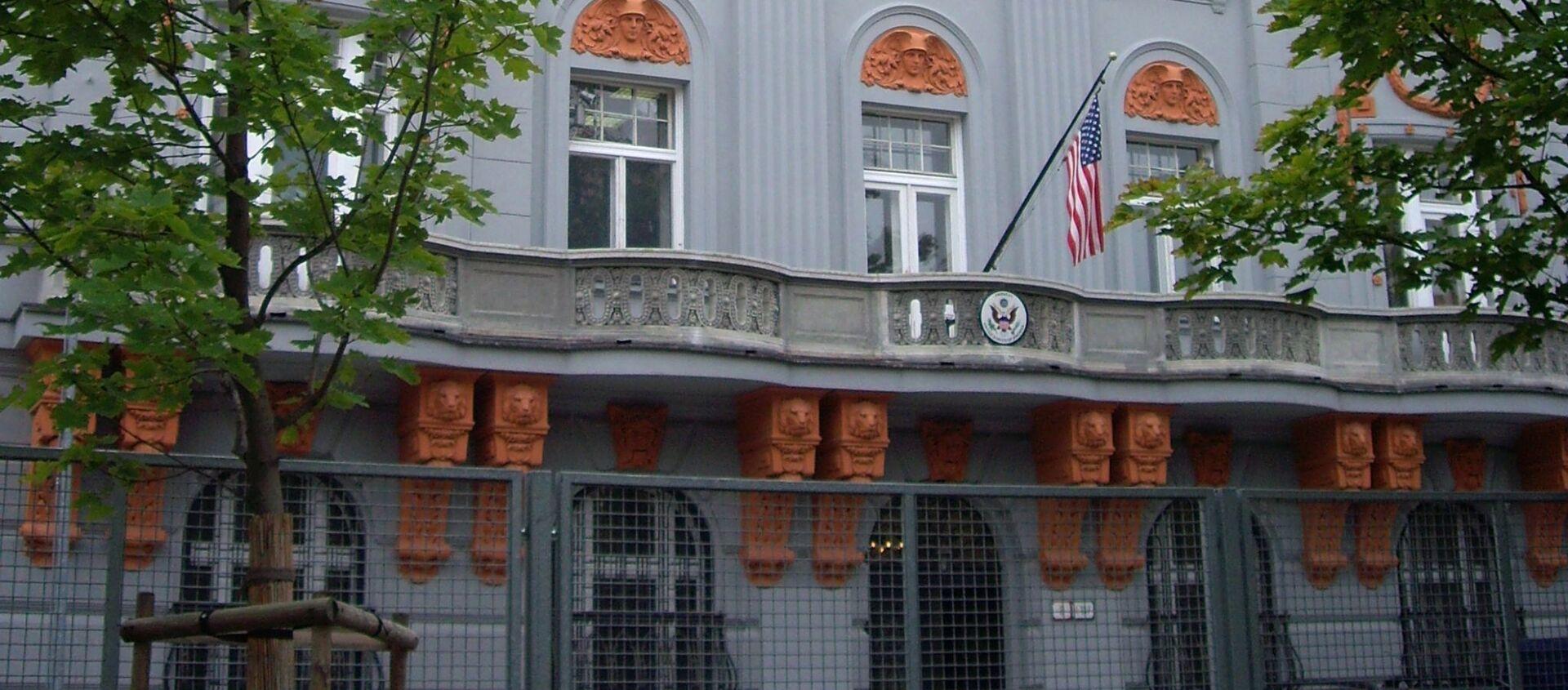 Americká ambasáda v Bratislavě  - Sputnik Česká republika, 1920, 16.04.2021