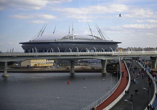 Stadion Petrohrad v Petrohradu