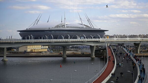 Stadion Petrohrad v Petrohradu - Sputnik Česká republika