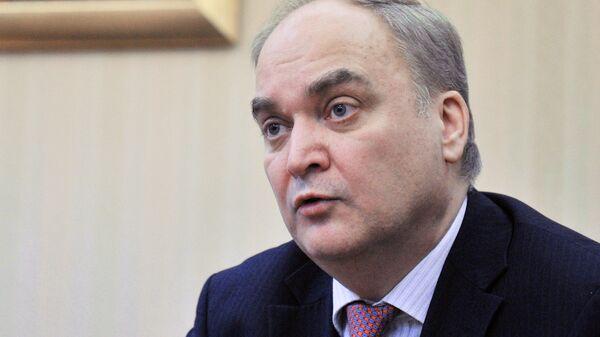 Ruský velvyslanec v USA Anatolij Antonov  - Sputnik Česká republika