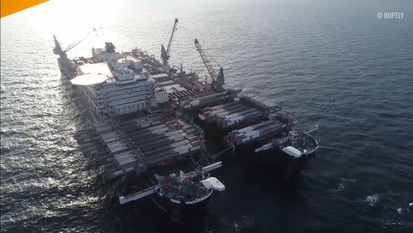 Stavba Tureckého proudu v Černém moři byla dokončena na ruském území - Sputnik Česká republika