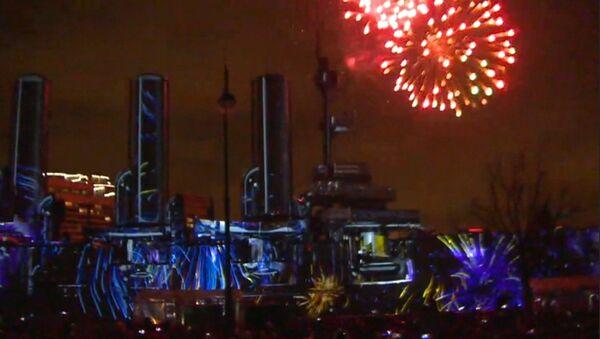 Festival světla probíhá v Petrohradu - Sputnik Česká republika
