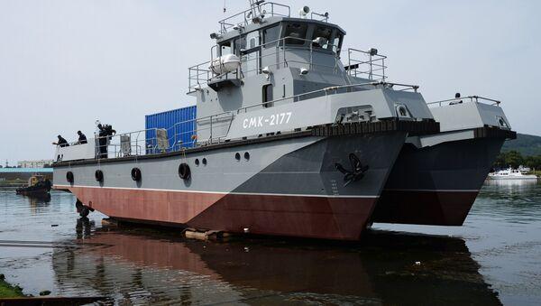Potápěčská loď nové generace SMK-2177 - Sputnik Česká republika