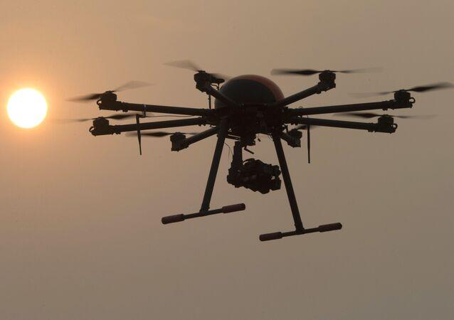 Čínský dron. Ilustrační foto