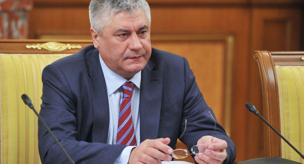 Ministr vnitra RF Vladimir Kolokolcev