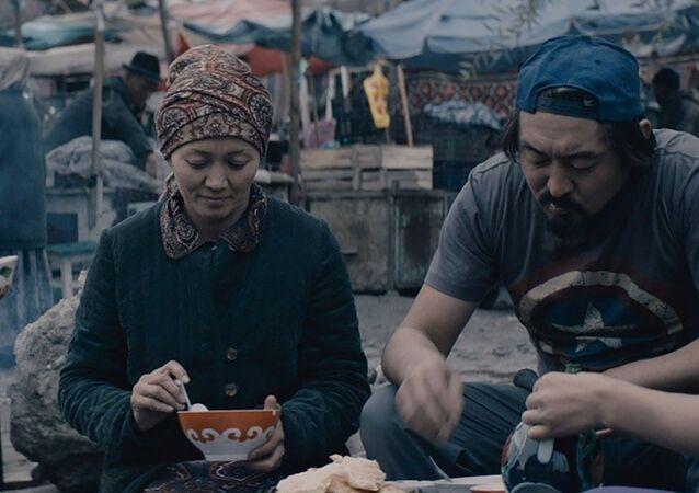 Záběr filmu Suleimanova hora
