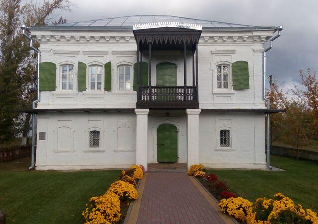 Kozácký dům v obci Staročerkasskoe. Ilustrační foto