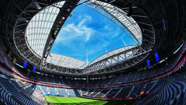 Zenit Arena v Petrohradu. Ilustrační foto - Sputnik Česká republika