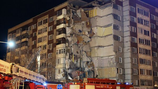 Dům v Iževsku po výbuchu - Sputnik Česká republika