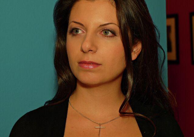 Šéfredaktorka Margarita Simonjanová