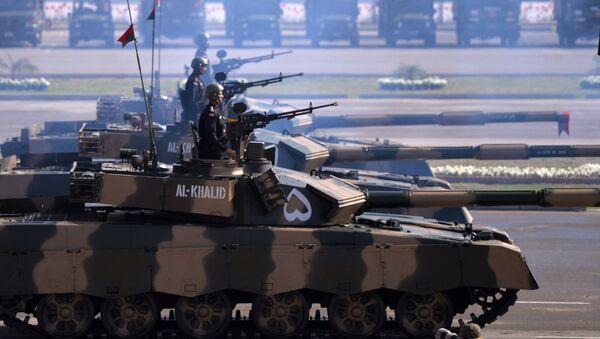 Pákistánské tanky Al-Khalid - Sputnik Česká republika
