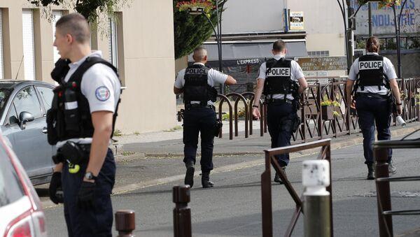 Francouzská policie. Ilustrační foto - Sputnik Česká republika