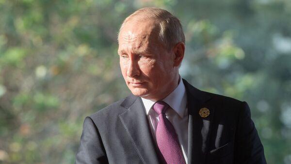 Ruský prezident Vlaimir Putin - Sputnik Česká republika