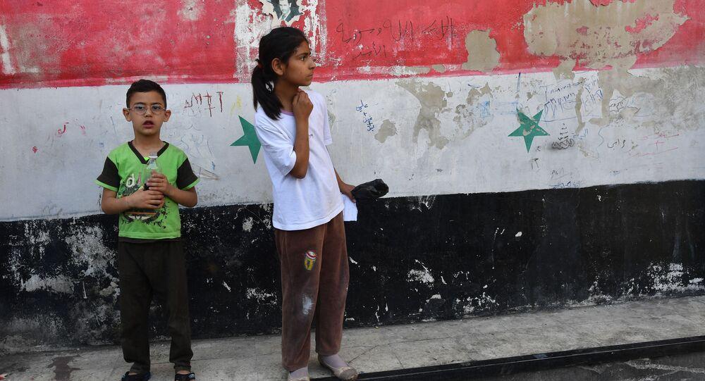 Děti v Damašku