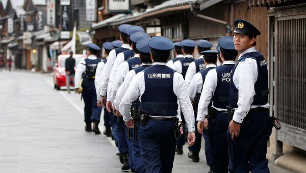 Japonští policisté - Sputnik Česká republika