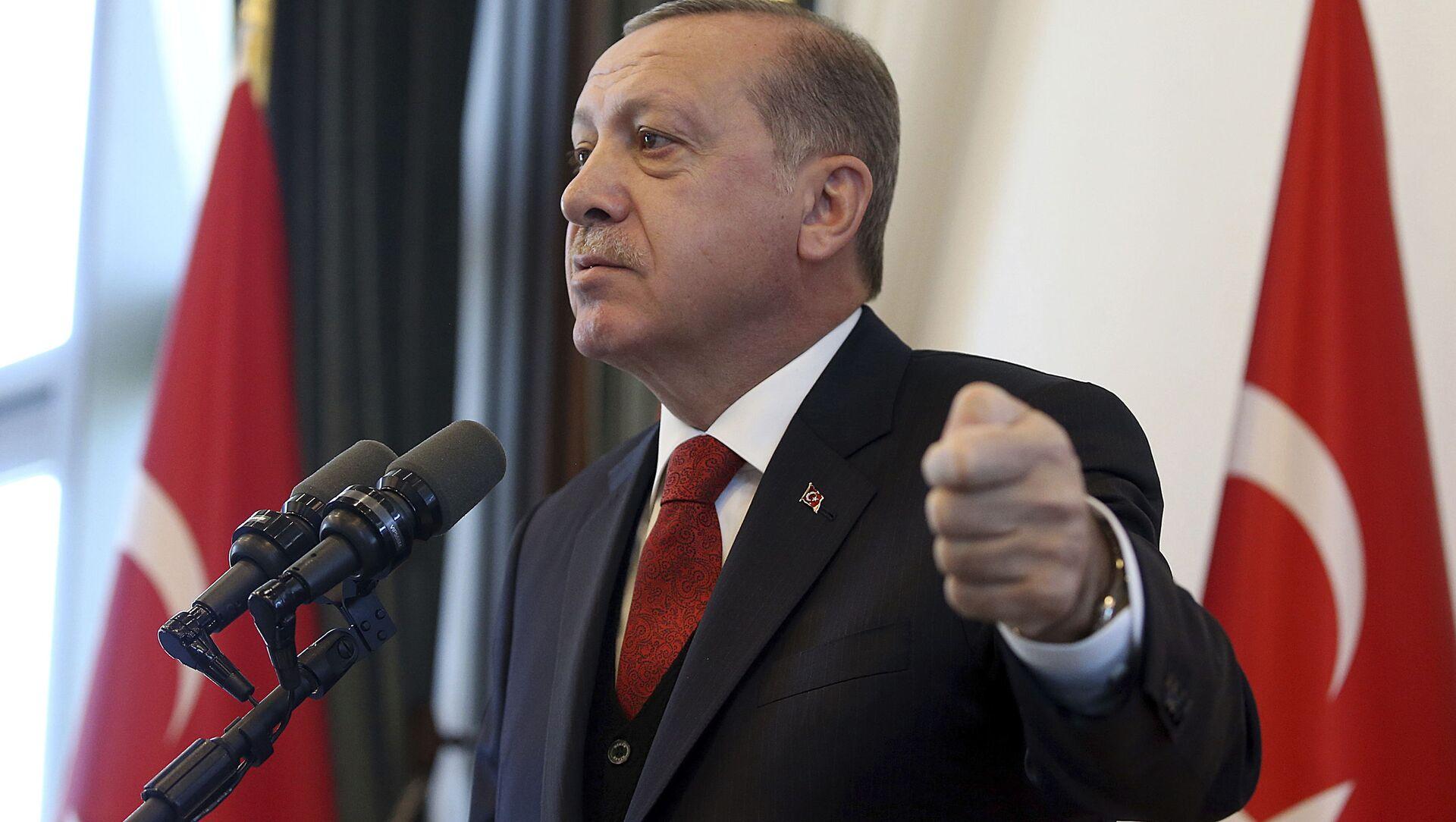 Turecký prezident Recep Tayyip Erdogan - Sputnik Česká republika, 1920, 21.03.2021
