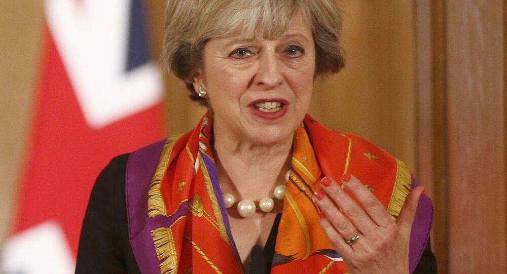Premiérka Velké Británie Theresa Mayová