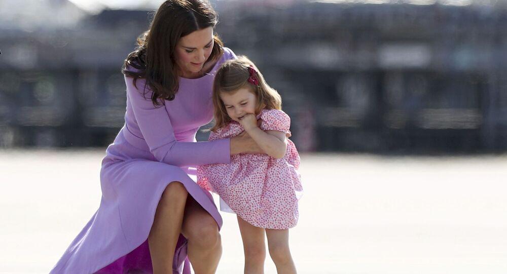 Vévodkyně Kate se svou dcerou Charlotte