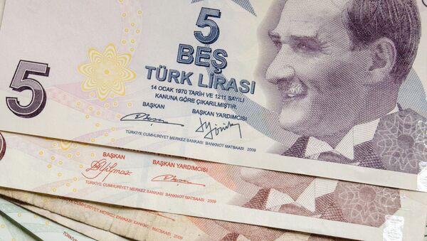 Turecká lira - Sputnik Česká republika