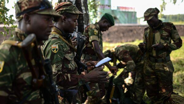 Příslušníci ozbrojených sil Zimbabwe. Ilustrační foto - Sputnik Česká republika