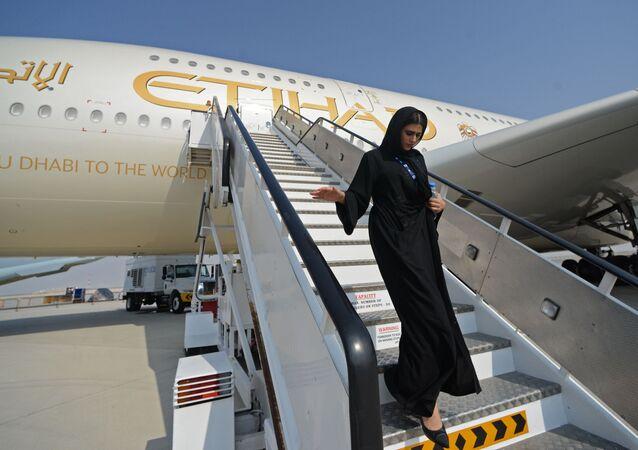 Letadlo společnosti Etihad