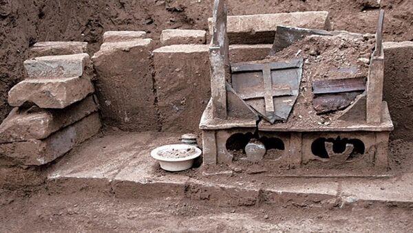 Nalezené ostatky, které zřejmě patřily Buddhovi - Sputnik Česká republika