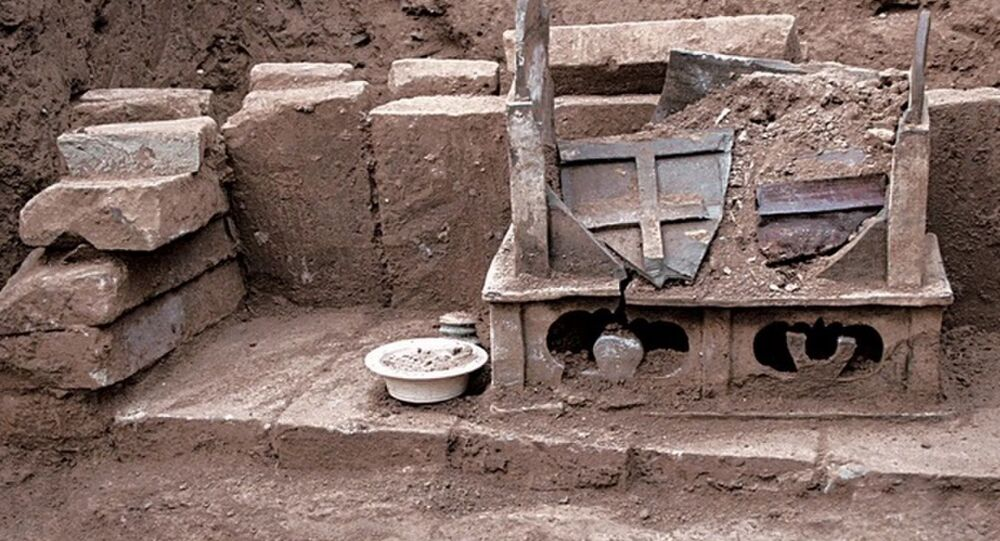 Nalezené ostatky, které zřejmě patřily Buddhovi