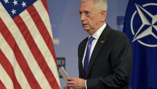 Šéf Pentagonu James Mattis. Ilustrační foto - Sputnik Česká republika