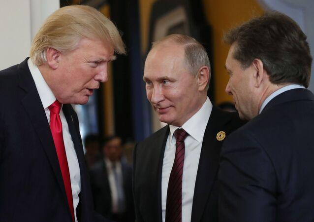 Donald Trump a Vladimir Putin