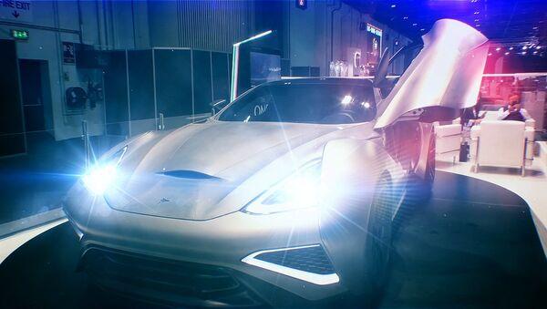 Titanový supersportovní automobil - Sputnik Česká republika