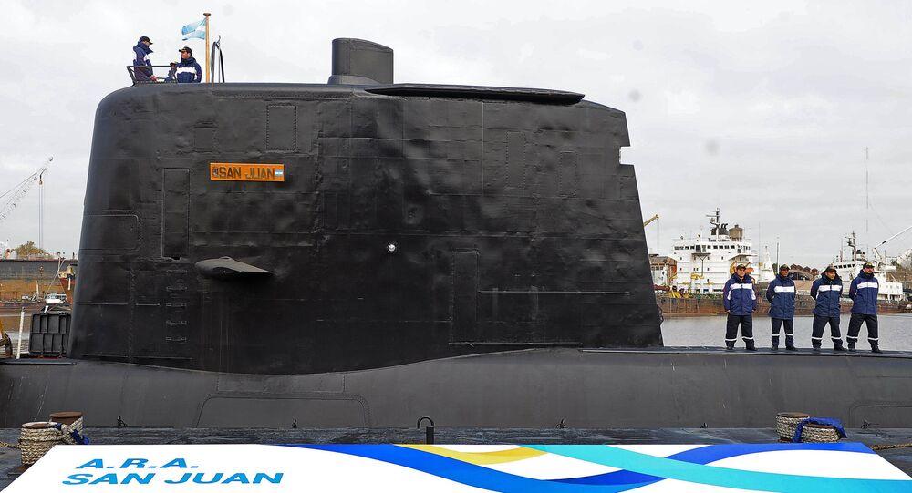 Bojová ponorka San Juan Námořnictva Argentiny