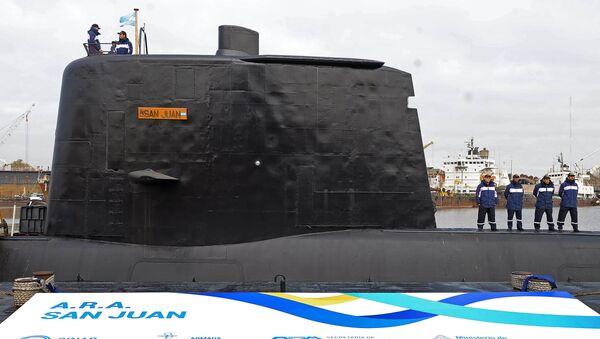 Bojová ponorka San Juan Námořnictva Argentiny - Sputnik Česká republika
