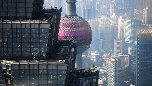Věž Ťin Mao v Šanghaji - Sputnik Česká republika