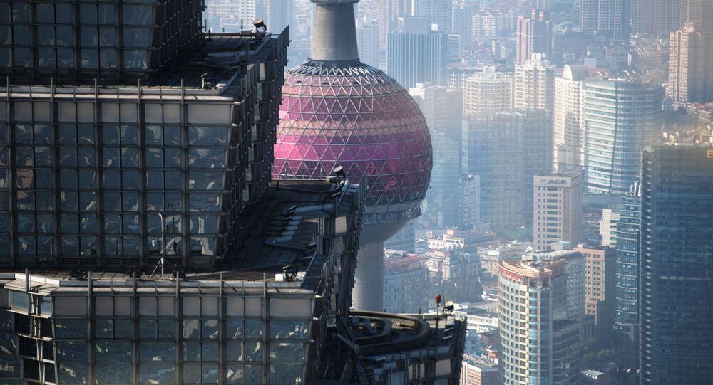Věž Ťin Mao v Šanghaji