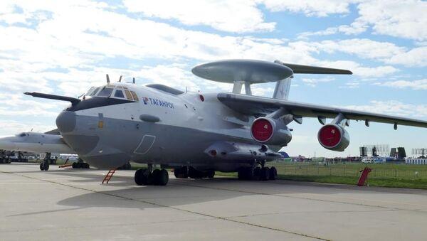 Mnohofunkční letecký komplex radarové hlídky a navádění A-100 - Sputnik Česká republika