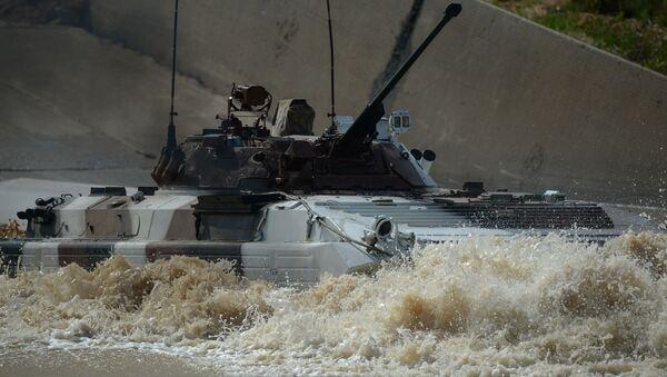 Bojové vozidlo BMP-2 - Sputnik Česká republika