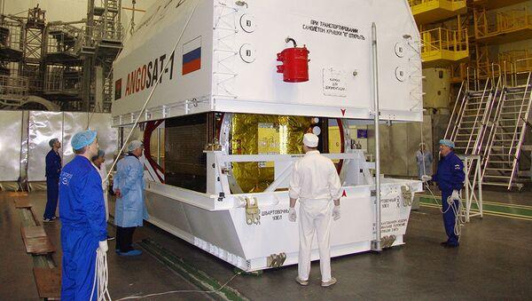 Angolské družice Angosat - Sputnik Česká republika