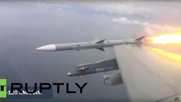 Pilot stíhačky F-16 ukázal, jak sestřelit dron s pomocí rakety - Sputnik Česká republika