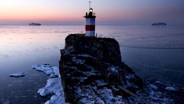 Maják ve Vladivostoku - Sputnik Česká republika