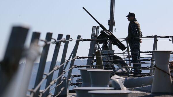 Americký námořník. Cvičení - Sputnik Česká republika
