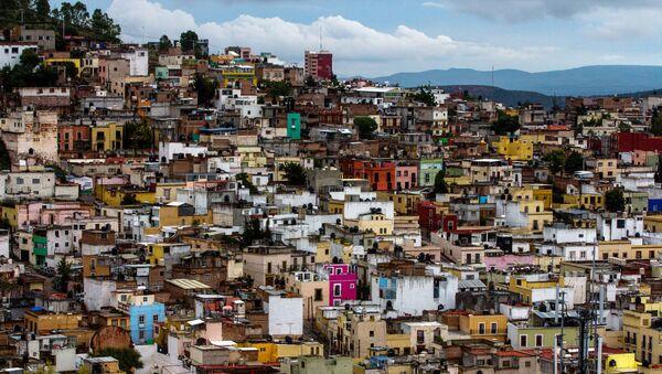 Pohled na mexické město Zacatecas. - Sputnik Česká republika