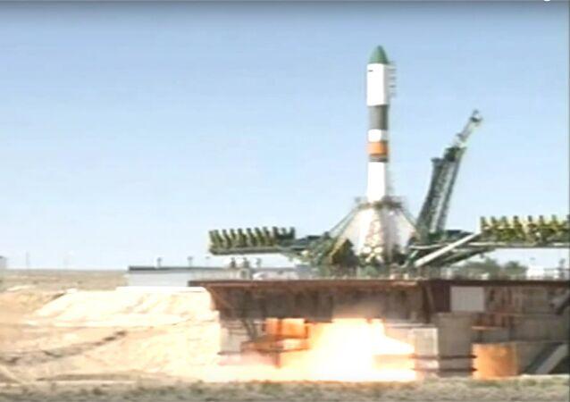 Start kosmické lodě Progress k ISS