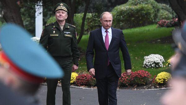 Ruský prezident Vladimir Putin na Jaltě - Sputnik Česká republika