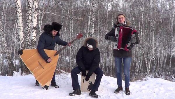 Sibiřané s balalajkou a bubnem natočili klip na superhit Despacito - Sputnik Česká republika