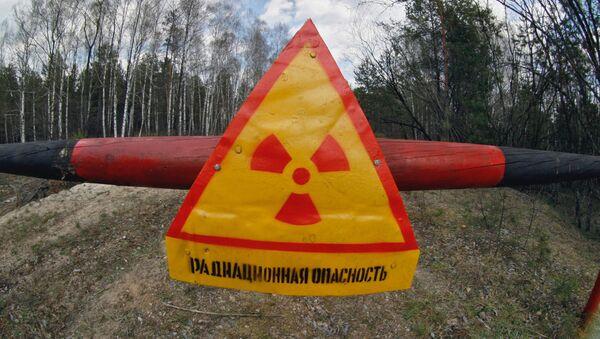 Znak radioaktivního nebezpečí - Sputnik Česká republika