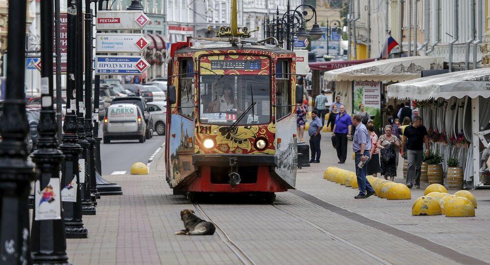 Tramvaj v Nižním Novgorodu