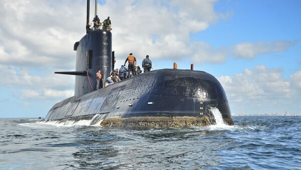Ponorka San-Juan - Sputnik Česká republika